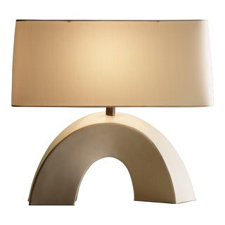 Arch Lamp - Cream Lacquer