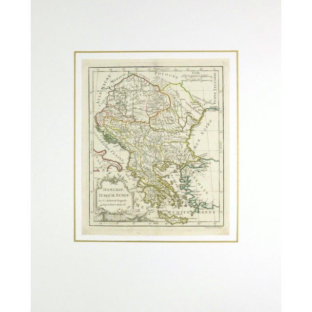 Antique Map Hungary & Balkans, 1778 - Image 3 of 3