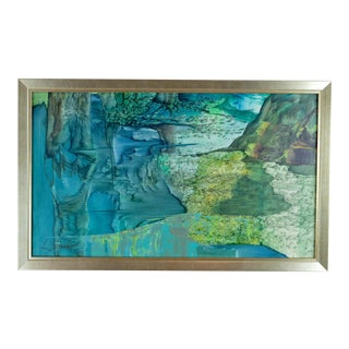 Abstract Landscape Painting by Laurence Sisson