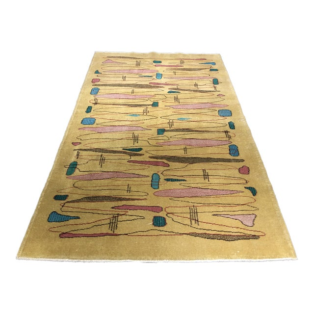 "Turkish Zeki Muren Designed Rug - 4'7""x7'9"" - Image 1 of 7"