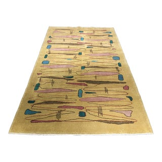"Turkish Zeki Muren Designed Rug - 4'7""x7'9"""