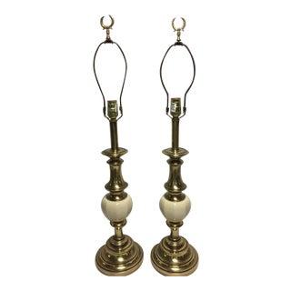 Vintage Stiffel Hollywood Regency Lamps - A Pair