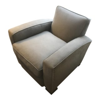 Restoration Hardware Library Upholstered Chair