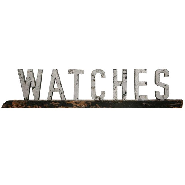 American Watches Sign - Image 1 of 6