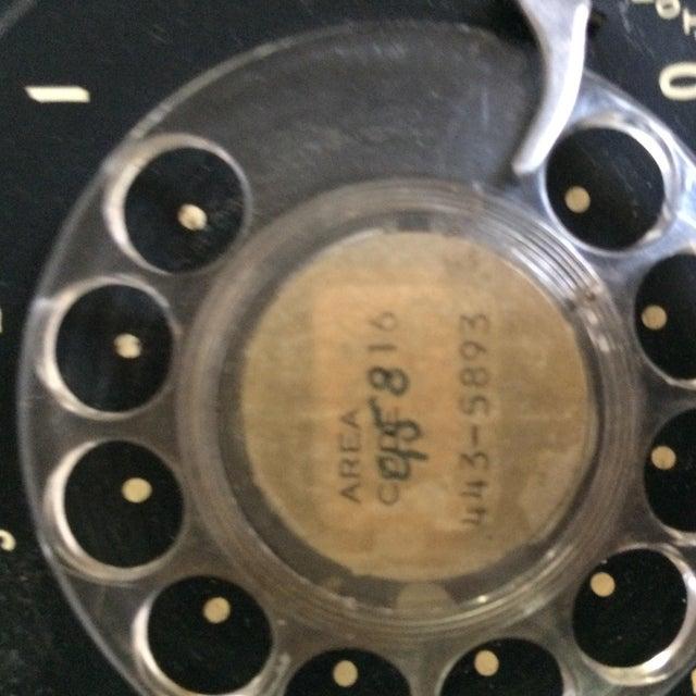 Vintage Black Western Electric Telephone - Image 8 of 11