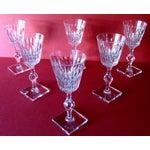 Image of Vintage Hawkes Crystal Stem Glasses - Set of 6