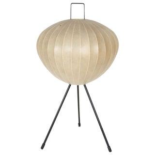 1950s Tripod bubble Floor Lamp on Tripod Base