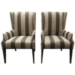 CR Laine Soho Accent Chairs - A Pair