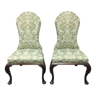 Hickory Chair Lemont Side Chairs - A Pair