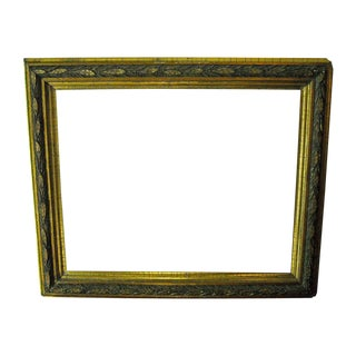 Antique Gilt Frame Lemon Gold Victorian