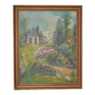 Ernest Frederick Meyer Country Garden Landscape c.1920s
