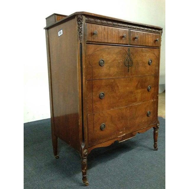 White Furniture Company Walnut Veneer Dresser Chairish