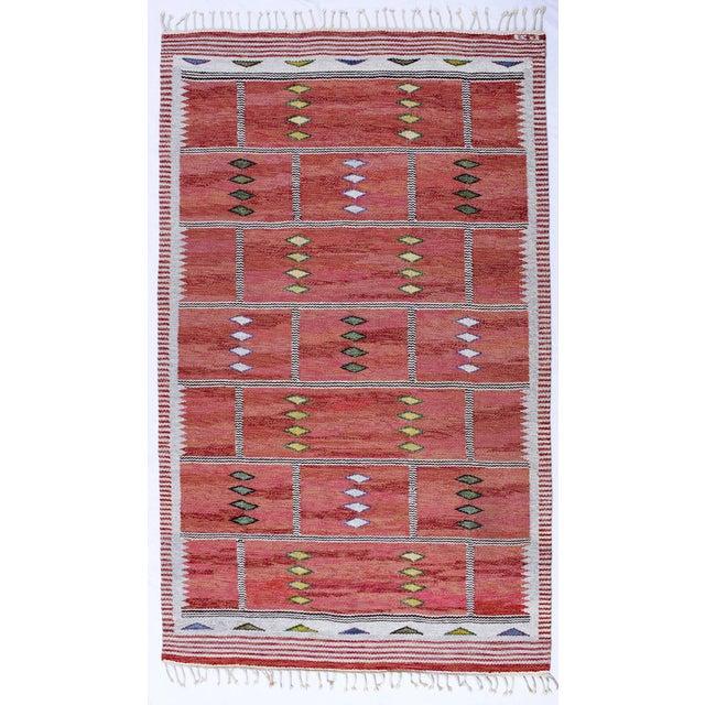 Vintage Carl Dagel Flat-Weave Swedish Carpet - Image 2 of 8