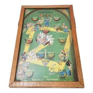 Vintage Taletop Arcade Game, Circa 1940's