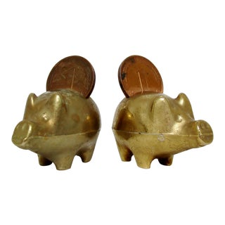Mini Coin Piggies - a Pair