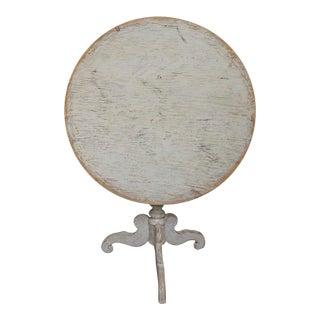 Swedish Tea Table with Pedestal Base (#62-05)