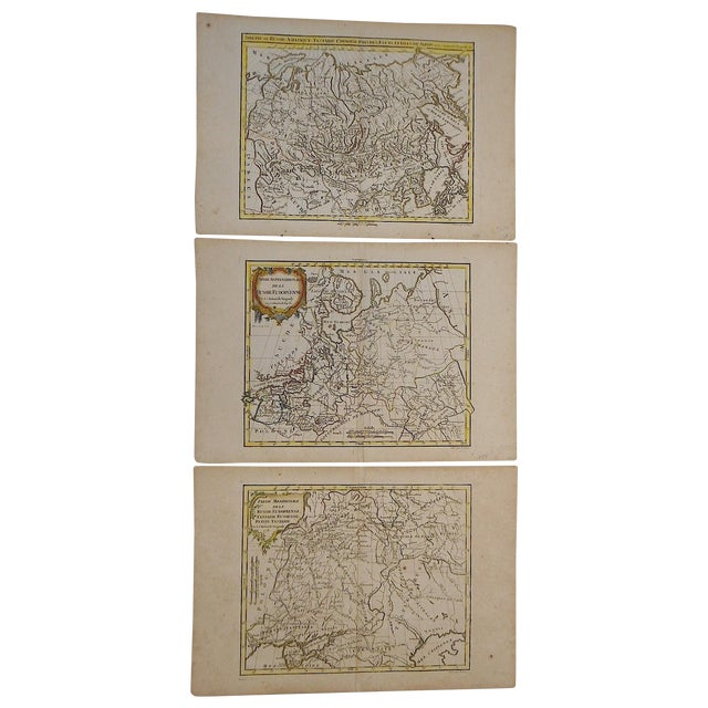 18th C. Russia, Siberia & Tartary Maps- Set of 3 - Image 2 of 5
