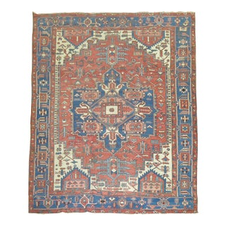 19th Century Persian Serapi Rug, 9'6'' x 11'9''
