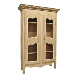 French Provincial Painted Bookcase
