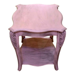 French Louis XIV Style Side Table