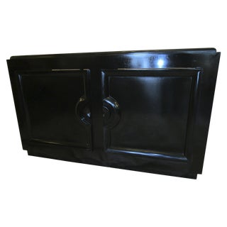 Black Lacquered Buffet