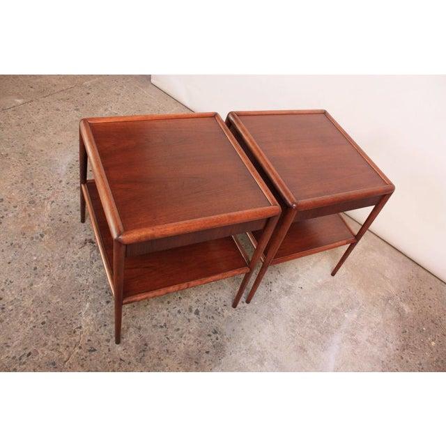 Pair of T. H. Robsjohn-Gibbings Single Drawer End Tables - Image 8 of 10
