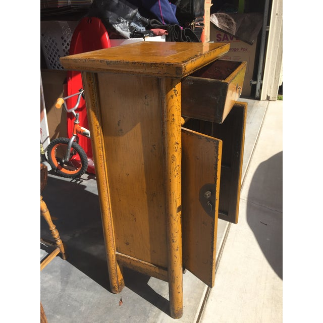 Chinese Golden Yellow Cabinet - Image 5 of 5