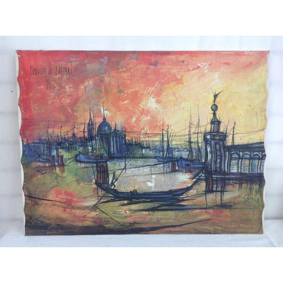 Bouvier De Cachard Reproduction Venice at Sunset - Image 2 of 6
