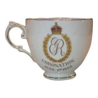 Queen Elizabeth Coronation Tea Cup