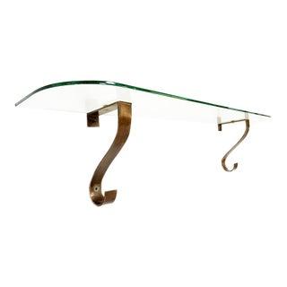 Arturo Pani Glass & Brass Console