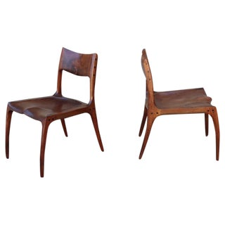 Pair of Craft Chairs by Rick Pohlers