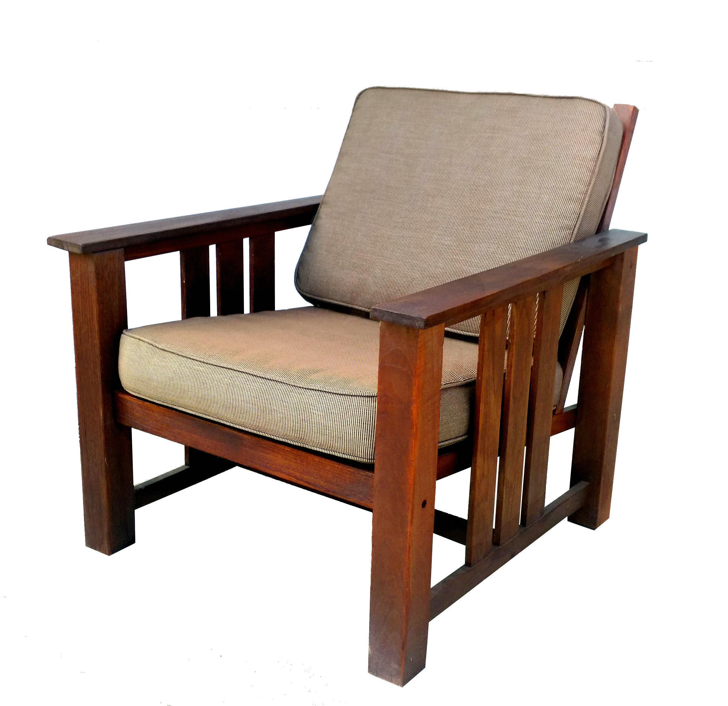 """Vintage Brown Jordan """"Mission Teak"""" Lounge Chair"""