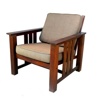 "Vintage Brown Jordan ""Mission Teak"" Lounge Chair"