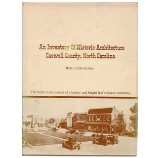 An Inventory of Historic Architecture