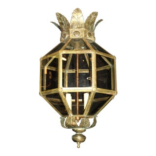 Antique Chandelier, Venetian Lantern