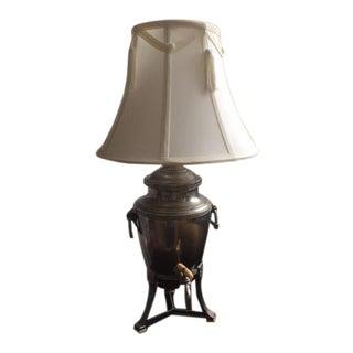 Landers Frary & Clark Coffee Urn Lamp