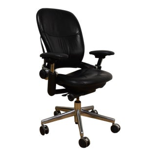 Steelcase Leap V2 Leather Office Chair