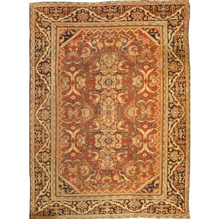 Pasargad NY Antique Persian Mahal Lamb's Wool Rug - 9' x 12'