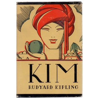 """Rudyard Kipling's """"Kim"""" 1901 Book"""