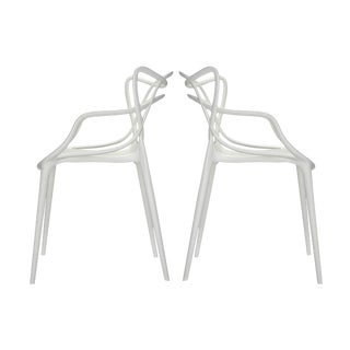 Pair of Kartell Masters Chair by Phillipe Stark