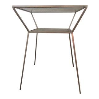 OneKingsLane Silver Side Table