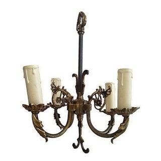 Antique Swedish Gustavian Chandelier