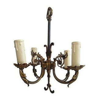 Antique Swedish Gustavian Chandelier