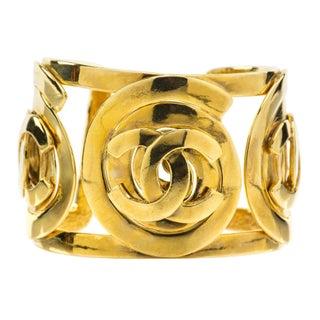 Chanel Vintage 95A Cuff Bracelet