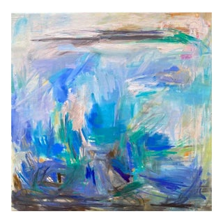 """Island Hopping"" Large Abstract by Trixie Pitts"