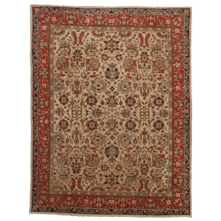 Hand-Knotted Wool European Rug - 7′3″ × 9′6″
