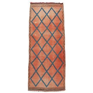 Vintage Moroccan Berber Modern Tribal Style Gallery Rug - 5′7″ × 13′3″