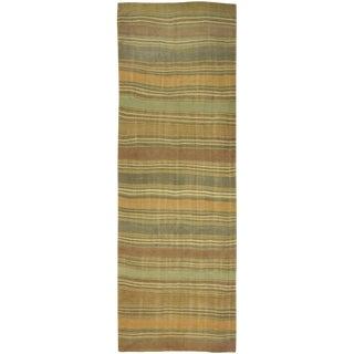 Vintage Hand Woven Turkish Kilim - 4'7 X 15'