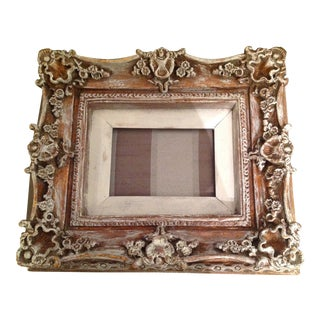 Antique Shabby Chic Wooden Picture Frame