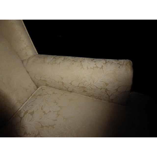 Vintage French Country Wingback Chair - Image 6 of 11